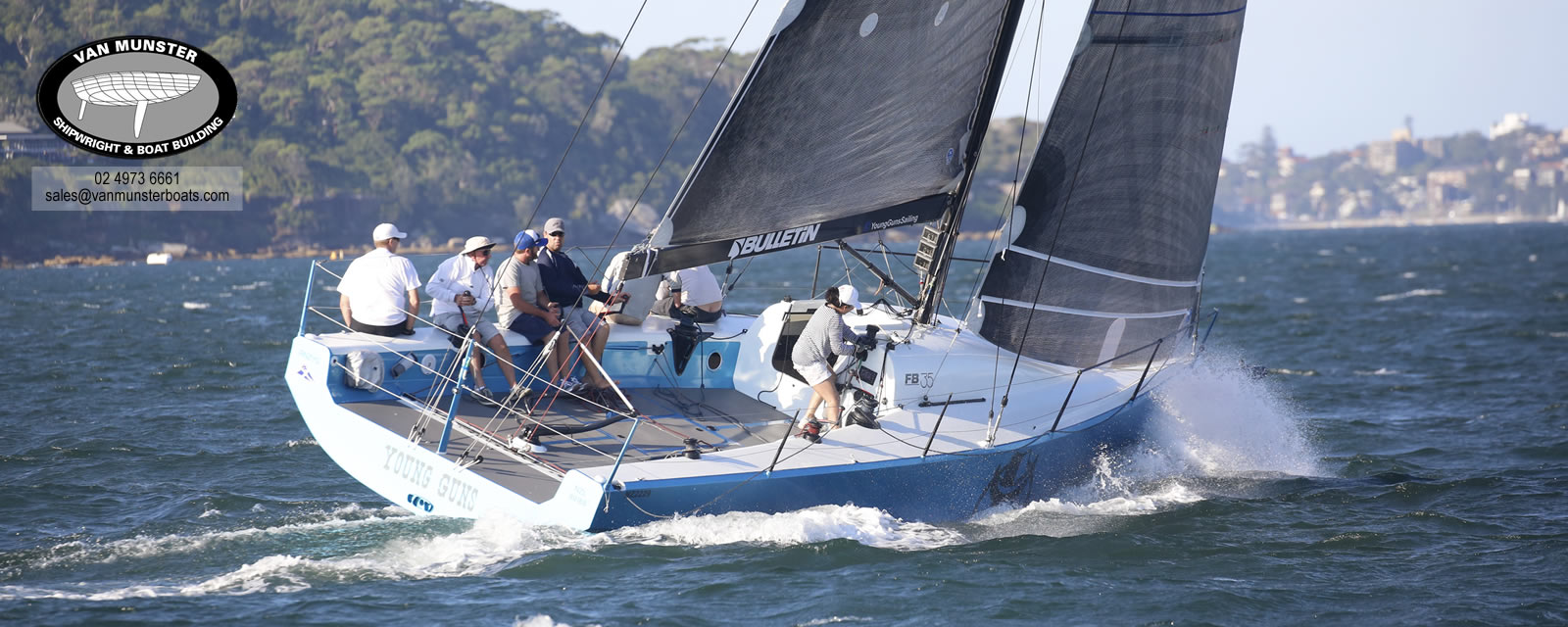 FB35 - Grand Prix Racing Yacht
